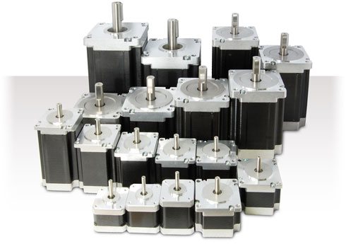 High torque stepper motors